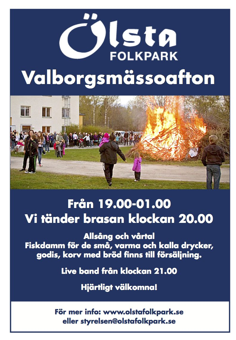 ÖLSTA Valborg 2014