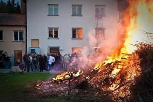 Bild från tidigare Valborgsmässofirande